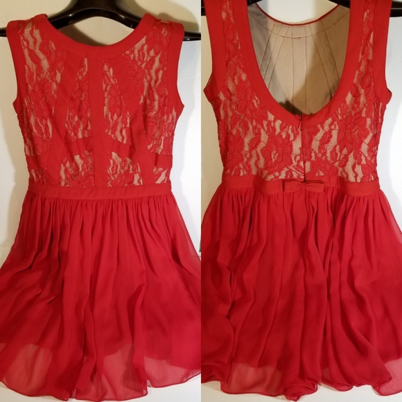 9e428da99ec5 dELiA s Dresses   Skirts - Beautiful Red Dress Delia s size 3